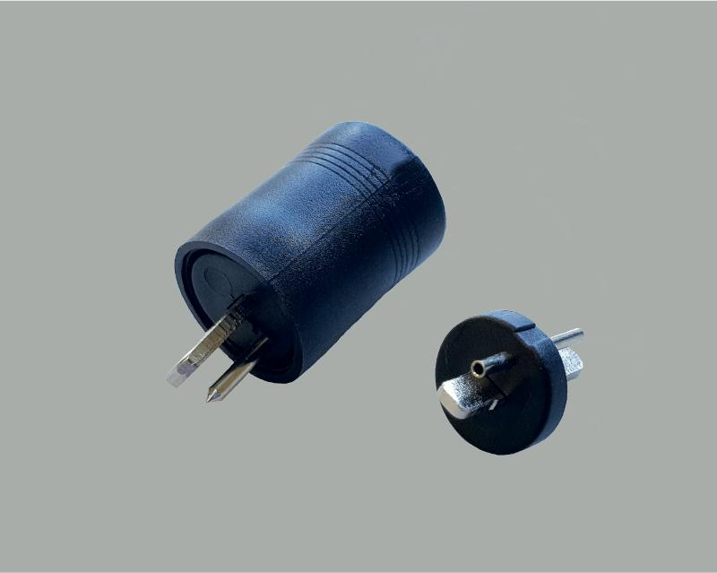 DIN speaker plug, solder type, without anti-kink protection