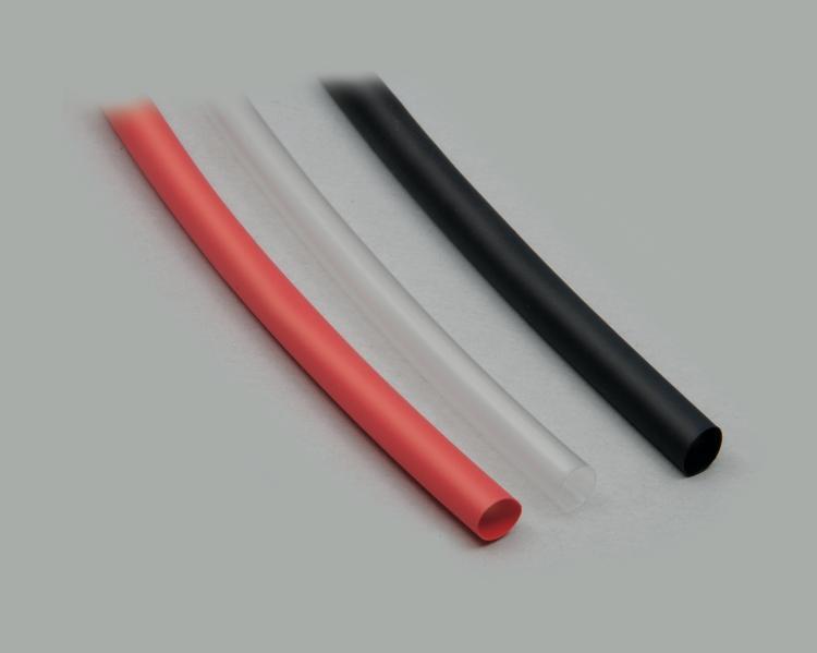 Schrumpfschlauch PVDF 2,4mm High Temp qualità 1,2m