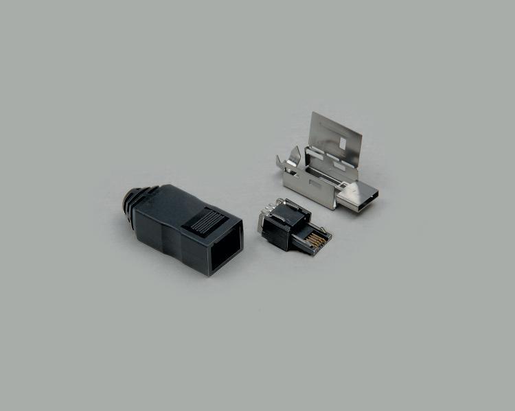 bkl electronic kreimendahl micro usb stecker 5 polig. Black Bedroom Furniture Sets. Home Design Ideas